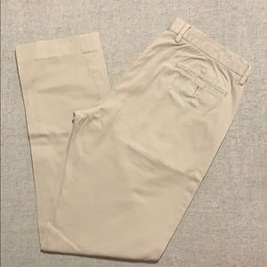 JCrew Men's Bowery Slim Khakis 34x32